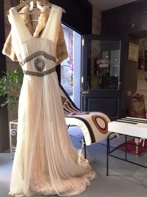 vestido novia estilo romano