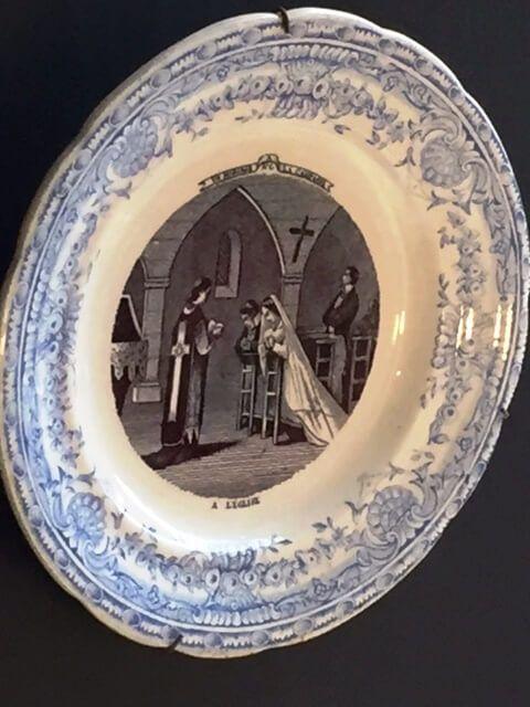 plato boda